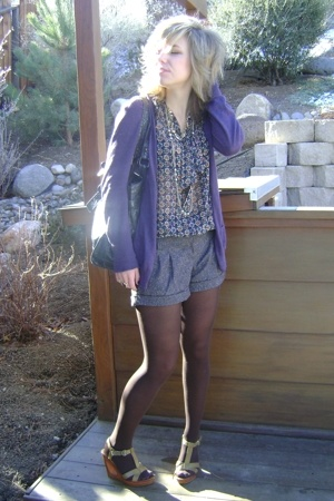 Target shoes - simply vera wang sweater - Forever 21 blouse