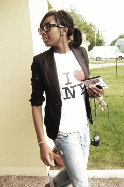 H&M vest - Levis shirt