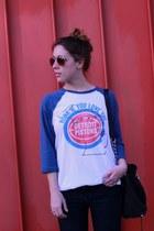 Marshalls t-shirt - Joes Jeans jeans - Michael Kors bag - H&M sunglasses