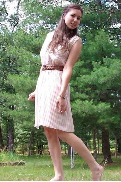 pink rehabed dress dress