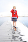 American-eagle-sweater-plaid-hollister-skirt-gingham-old-navy-top