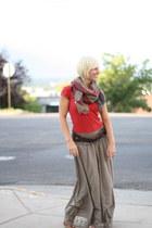 maxi skirt shepaisy skirt - Target belt