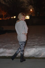 Knit-american-eagle-sweater-forever-21-leggings
