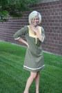 Olive-green-roxy-dress