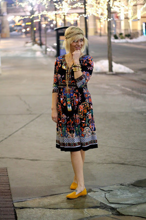 boho hippie dress - cotton on flats