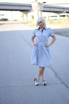 striped heels ami clubwear heels
