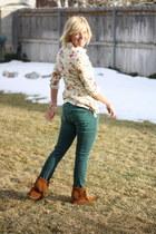 H&M pants - moccassins Minnetonka flats