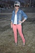 denim leggins Express jeans - square Marc Jacobs sunglasses