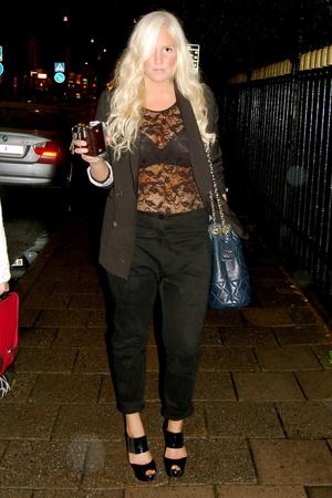 Marni shoes - Monki panties - whyred blazer - Chanel purse