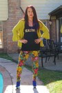 Chartreuse-floral-shop2020-ave-leggings-mustard-stag-antlers-unknown-ring