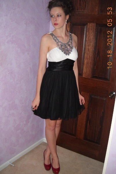 d7b598baa4 black semi-formal Macys dress