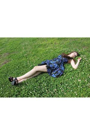 floral kohls dress