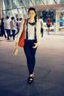 Black-topshop-jeans-ruby-red-zara-bag-black-topshop-heels-black-thisistran