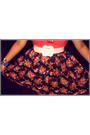 Brown-cotton-on-skirt-pink-cotton-on-top-maple-belt-brown-shoes