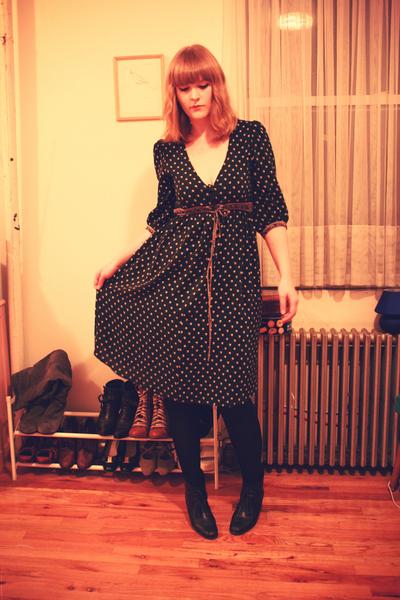 black Built by Wendy dress - black Rachel Comey boots