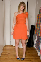 H&M dress - Hayden-Harnett shoes
