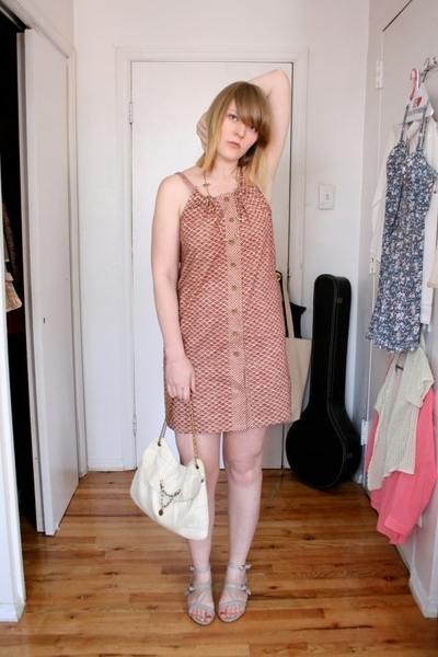 Dolce Vita dress - mayle purse - OhDeer shoes