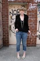 asos jacket - American Apparel shirt - CurrentElliott jeans - H&M necklace - Ant