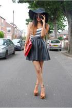 H&M skirt - Primark hat - asos heels
