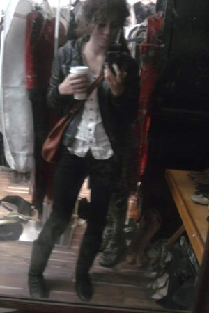 Steve Madden jacket - Macys blouse - J Brand jeans - Chinese Laundry boots