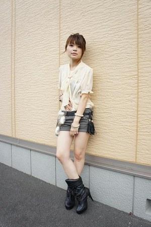Handomade belt - Zara pants
