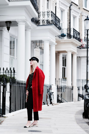 red coat KappAhl coat