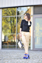 designer zeroUV sunglasses - gold H&M pants