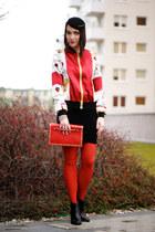 missspark jacket - studs Zara shoes
