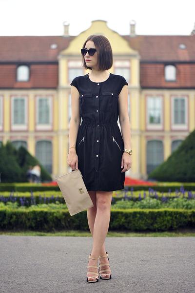 black dress Mohito dress