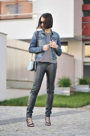 leather KappAhl pants