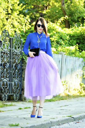 tulle chic Serendipity skirt - new look blouse