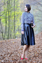 leather PresKA skirt
