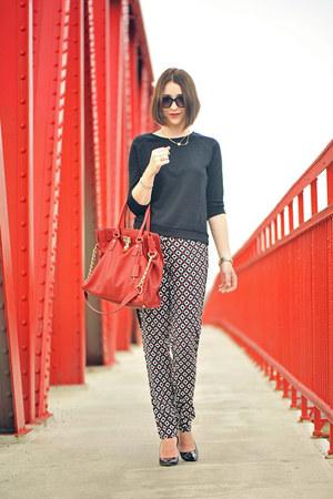 prints c&a pants