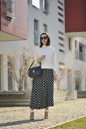 dotted vintage skirt
