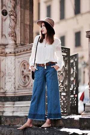denim culottes c&a jeans