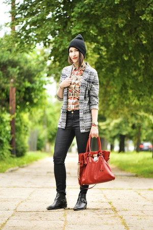 Michael Kors bag - Zara shoes - new look jacket - new look accessories