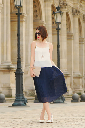 pleated skirt Orsay skirt