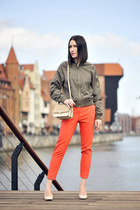 orange F&F pants