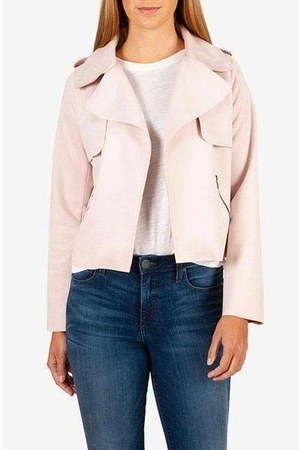 light pink polyster KLOTH jacket
