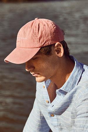 salmon casual hat