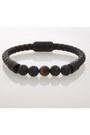 Black-beaded-bracelet