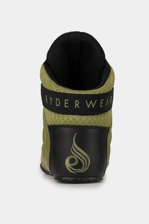 dark khaki suede Ryderwear shoes