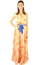 light orange HCB dress