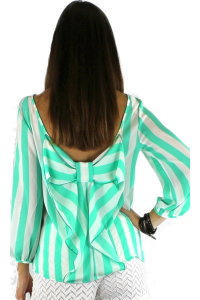aquamarine HCB top
