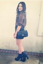 TJ Maxx blouse - Forever 21 skirt