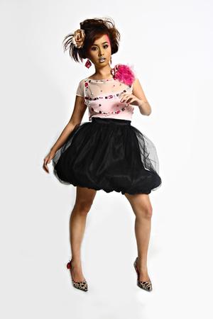 Glitterati blouse - Glitterati skirt