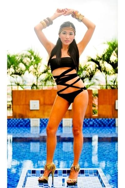 Glitterati swimwear