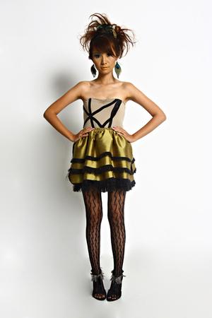 Glitterati top - Glitterati skirt