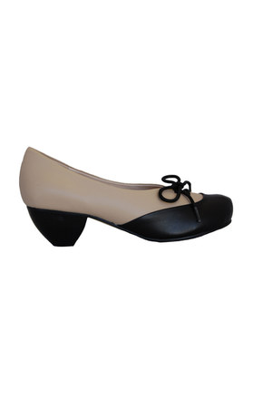 all black heels