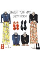 maxi Shoxie dress
